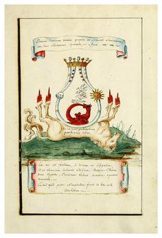 Les Vaisseaux D'Hermes, par un anonyme, dans les années 1700. https://archive.org/details/manlypalmerhabox14hall Des illustrations de manuscrits d'alchimie - La boite verte