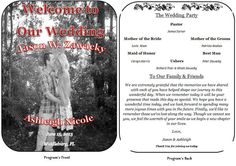 Hey, I found this really awesome Etsy listing at https://www.etsy.com/listing/177391297/adorable-wedding-program-fan-template