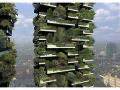ミラノに完成間近!森林に包まれたエコな高層マンションがすごいの画像 iemo[イエモ] | Antenna