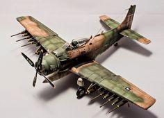 A1E Skyraider