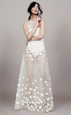 Dress Heaven: Kavier Gauche Papillon D'Amour Collection 2015
