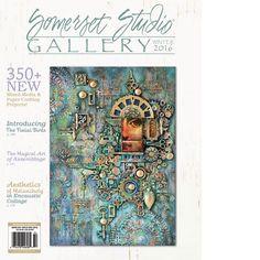 Somerset Studio Gallery Winter 2016 - Stampington