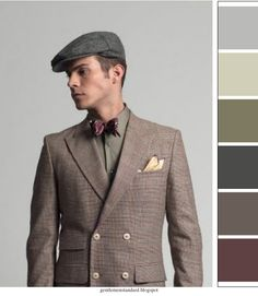 I love this color pallette!! Going masculine