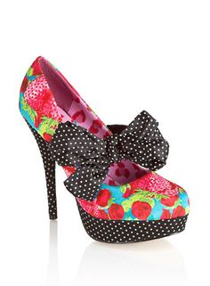 Iron Fist Indescent Obsession Platform Shoe Multi Coloured