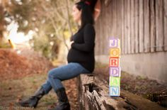 Love the blocks and the fall colors...maternity pics in the fall splendor? I think so :)
