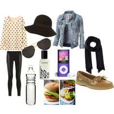 """Basicos de viaje"" by mafer-cisneros on Polyvore"