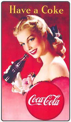 Baú de Figuras: Imagens Decoupage Coca Cola