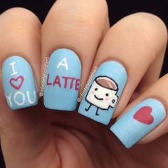 Hey c'est l'heure du goûter ! #idée #nailart #nail #nails #vernis #ongles #astuce #miam #love