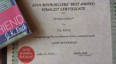 Super excited for CAMP BOYFRIEND to final in the Booksellers' Best Award for the Young Adult category.http://www.amazon.com/Camp-Boyfriend-...