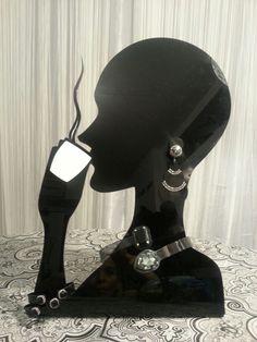 #logo, #bijouxespresso, #blackandwhite, #swarovski, #plexiglass, #earrings, #necklace, #bracelet