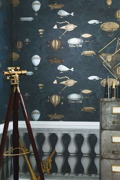 Nice Deco Chambre Steampunk that you must know, You?re in good company if you?re looking for Deco Chambre Steampunk Fornasetti Wallpaper, Piero Fornasetti, Steampunk Bedroom, Steampunk Interior, Steampunk House, Cole And Son Wallpaper, Of Wallpaper, Designer Wallpaper, Ideas