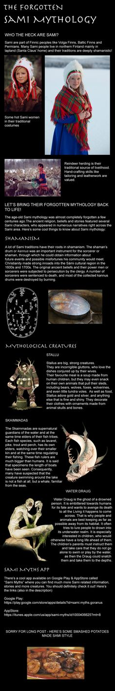 The awesome Sami mythology