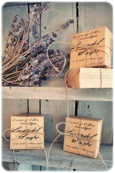 Homemade soap packaging  | followpics.co