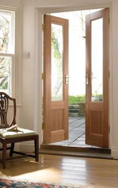 A beautiful house is not only making everyone in the house feel comfortable but also feel secure. One of the most important part of a beautiful house is the design. The design of . Read MoreDIY Double Doors a.a French Doors Ideas Narrow French Doors, Double French Doors, French Doors Patio, French Patio, Internal Double Doors, French Oak, External French Doors, External Doors, Double Doors Interior