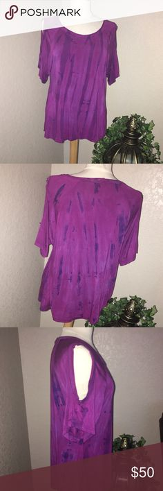 💜ART OF CLOTH BLOUSE💜 In GREAT CONDITION! NO HOLES NO STAINS!  SIZE M (10-12) runs big ! art of cloth Tops Blouses
