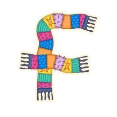 Letter F, Alphabet, Winter, Letters, Clothing Apparel, Winter Time, Alpha Bet