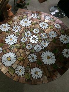 "Designs for Mosaics Templates 1201 Best Geometric Design Round Oval Mosaics Images On Of Designs for Mosaics Templates Mosaic Patterns""Around the Town"" - as I call it - mosaic! Mosaic Birdbath, Mosaic Garden Art, Mosaic Tile Art, Mosaic Flower Pots, Mosaic Artwork, Mosaic Diy, Mosaic Crafts, Mosaic Projects, Mosaic Glass"