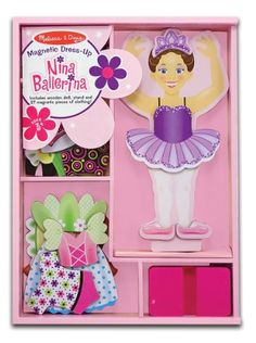Melissa & Doug Nina Ballerina Magnetic Dress Up Playset Melissa & Doug http://www.amazon.ca/dp/B000IEBY3A/ref=cm_sw_r_pi_dp_Ml42wb0BCQSG1