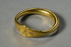 Ring (gold), Greek, (5th century BC)