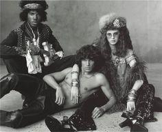 Jimi Hendrix, Jim Morrison, Janis Joplin