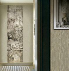 """Firenza"" - Roberto Cavalli wall panels collection."