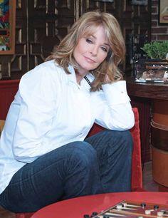 Deidre Hall...Marlena Evans Craig Brady Black