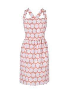 Boutique by Jaeger Floral halter neck dress Orange - House of Fraser