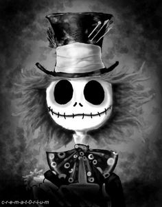 .Jack Skellington and Mad Hatter