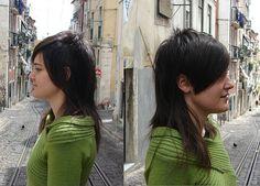 haircut dark long by wip-hairport, via Flickr
