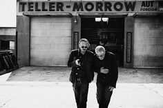 Sons of Anarchy - Tommy Flanagan and Ron Perlman, love this picture!