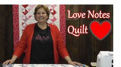 """The Love Notes """"Valentine Envelopes"""" Video Tutorial from The Missouri Quilt Company."""