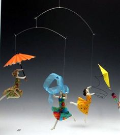 dancing figure paper mache sculpture - Google Search