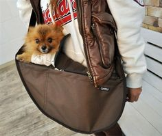 Fundle Pet Dog Cat Carrier Bag Adjustable Strap Large Brown *** Be sure to check out this awesome product. (This is an affiliate link and I receive a commission for the sales) Pet Dogs, Dog Cat, Large Dog Clothes, Pet Sling, Dog Stroller, Dog Shock Collar, Dog Purse, Cat Cages, Pet Car Seat