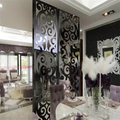Modern Design Laser Cut Partition Screen Restaurant Wall Panel Screen Marble Screen - China Metal Screen and Room Divider price | Made-in-China.com Folding Screen Room Divider, Partition Screen, Room Divider Walls, Room Screen, Stainless Steel Sheet Metal, Stainless Steel Screen, Decorative Panels, Decorative Metal, Laser Cut Screens