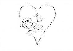 Heart Tin Punch Pattern