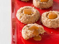 carmel filled maple pecan cookie