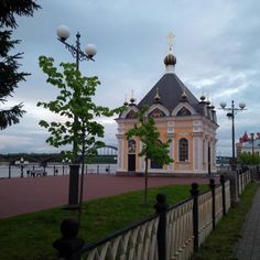 """""""Walks are the best at this time of the year!! #mytown #Rybinsk #Russia"""""""