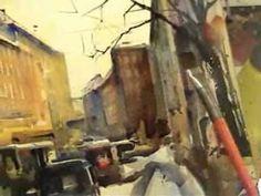 Watercolor demo 2 (short version)- Mika Törönen