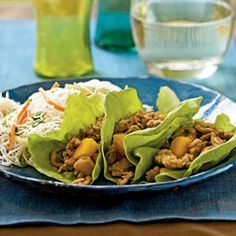 Chinese Chicken Lettuce Wraps - half the Peanut Oil or substitute with Grapeseed Oil