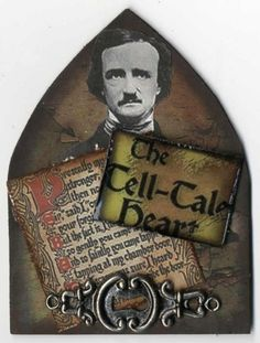 Artfully Musing: Edgar Allen Poe Themed ATCs by Various Artists