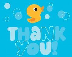 Lil' Quack Thank You- 48 Pieces Per Case  Product # :899730  $11.26