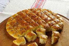 Belokranjska pogača - traditional round flat bread | Bela krajina