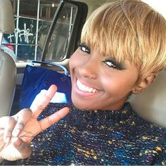 HAIR INSPIRATION: another fly mushroom cut we spotted @hairanointing #hairinspiration #hairstyle #hairstylist #haircut #blonde #trialsntresses #styleseat #carolsdaughter
