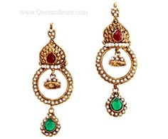 Polki Earring  [QDPER02]  Price:  $20.00  These Polki earring will look great with all kinds of outfits