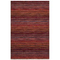 HIM703A Himalaya Red and Multi Colored Area Rug