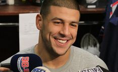 Aaron Hernandez ~ Found guilty of first degree murder..No possibility for parole...Very sad for both families.* #Godblessthem <3 <3