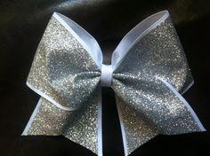 Sparkly Cheer Bow. $10.00, via Etsy.