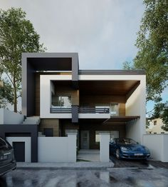 """Check out this @Behance project: """"SAFEEN-UMED HOUSE"""" https://www.behance.net/gallery/43450827/SAFEEN-UMED-HOUSE"""