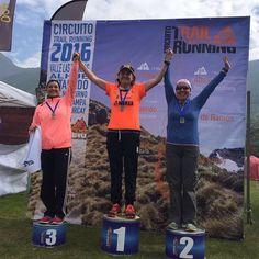 Felicitamos a Andrea Castro primer lugar categoría en 12k Trail Til-Til