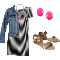 """""""summer outfit"""" by khferguson on Polyvore"""